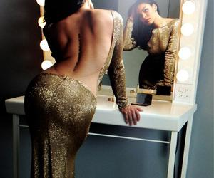 ass, gold, and vintage image