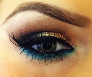 beautiful, eye, and make up image