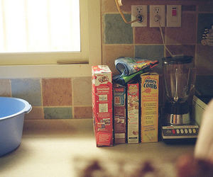 vintage, food, and cereal image