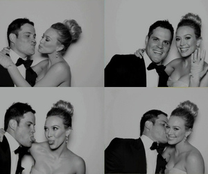 couple, Hilary Duff, and ring image