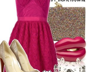 lottie, princess and the frog, and disney bound image