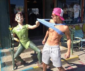 boy, peter pan, and Hot image