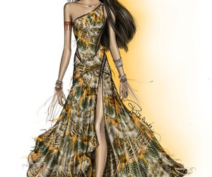 pocahontas, princess, and Roberto Cavalli image