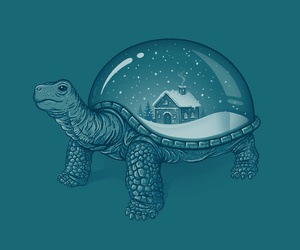 turtle, art, and cute image