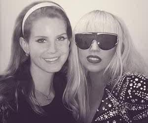 Lady gaga, lana del rey, and the queen image