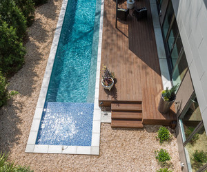 pool, house, and cool image