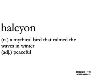 otherwordly   pronunciation   'hal-sE-un
