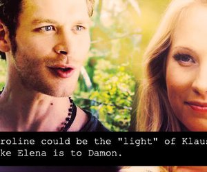 klaus, love, and caroline image