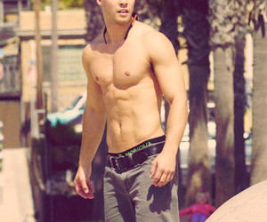 glee, sexy, and dean geyer image