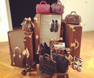 bags, classy, and heels image