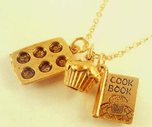 necklace, cupcake, and cute image