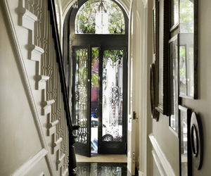 door, home, and interior image