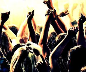 party, fun, and music image