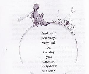 book, the little prince, and quotes image