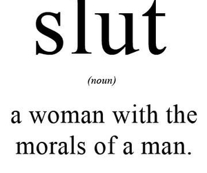 slut, man, and woman image