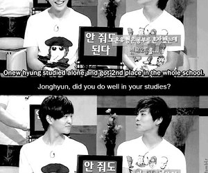 black and white, Jonghyun, and cute image