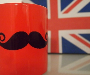 london, cool, and mustache image