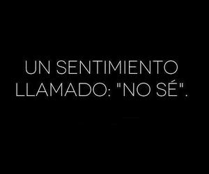 frases, feeling, and no se image