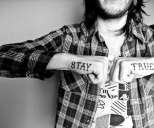 tattoo, boy, and stay true image