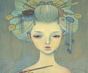 audrey kawasaki, art, and drawing image