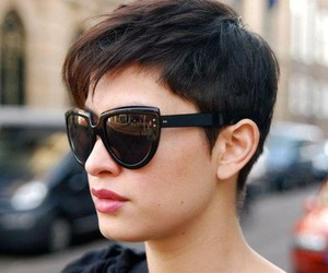 cut, pixie, and hair image