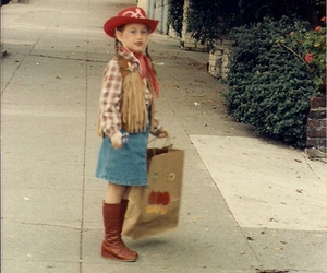 1984, children, and Cowgirl image