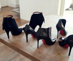 christian louboutin, woman, and fashion image