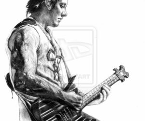 synyster gates, avenged sevenfold, and syn image