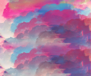 cloudy, photoshop, and psychedelic image
