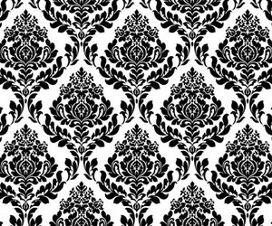 black, pattern, and white image