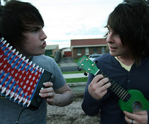 boy, cute, and music image
