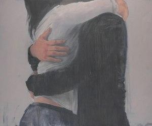 love, hug, and boy image