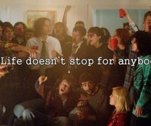 quote, life, and the perks of being a wallflower image