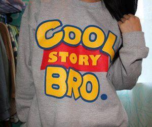 cool story bro, cool, and bro image