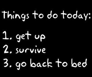 survive, bed, and today image