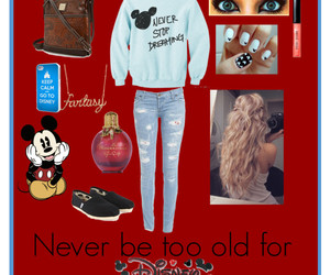 disney, Polyvore, and never to old image