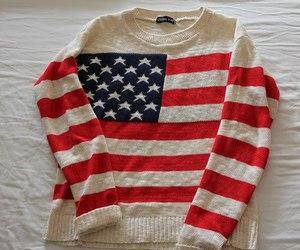 fashion, usa, and sweater image