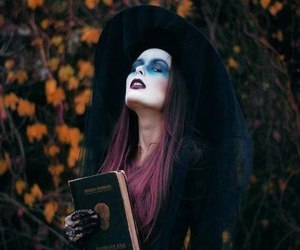 witch and Halloween image