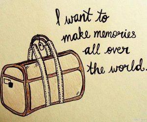 travel, memories, and world image