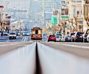 san francisco, city, and car image