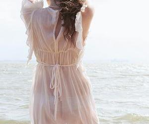dress, photography, and water image