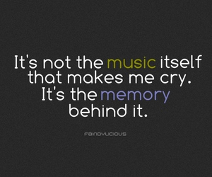 music, text, and memories image