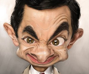 mr bean and funny image