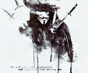 v for vendetta and quote image