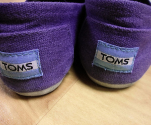 shoes, toms, and purple image