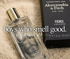 abercrombie and fitch, boys, and smell good image
