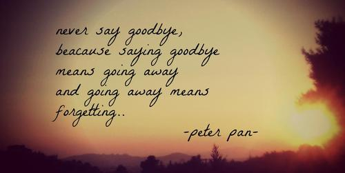 Peter Pan Quotes I Will Never Grow Up Archidev