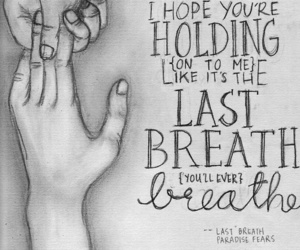 last breath and paradise fears image