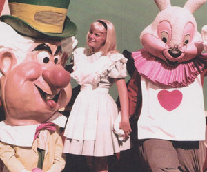 1955, alice, and alice in wonderland image