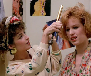 pretty in pink, 80s, and movie image